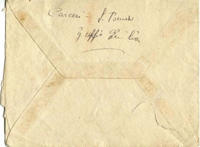04.Serena Pergetti-busta lettera dal carcere