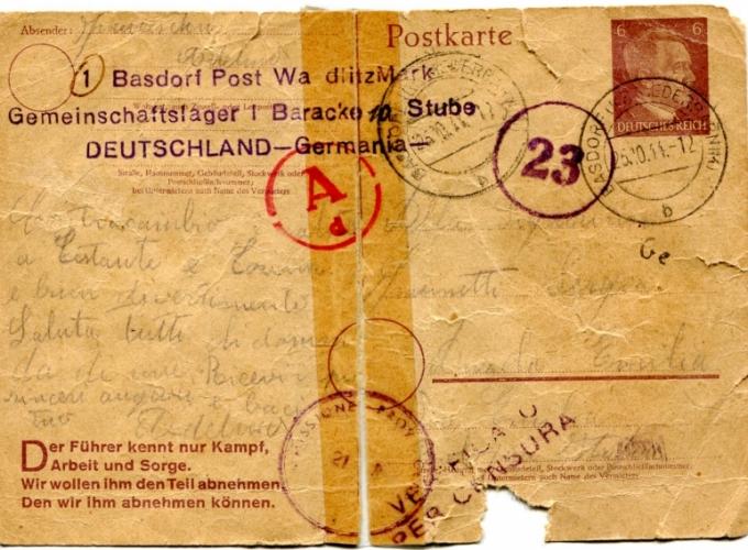 01.cartolina postale Adelmo Franceschini
