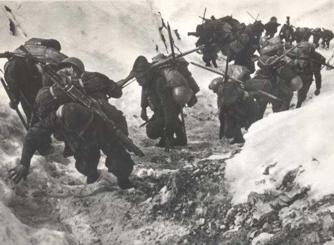 01.Alpini a Col de la Vigne 24.06.1940