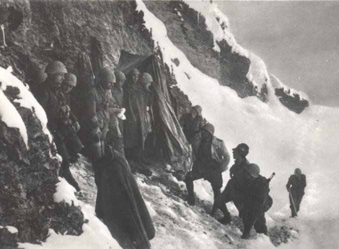 02.Alpini a Col de la Vigne 24.06.1940