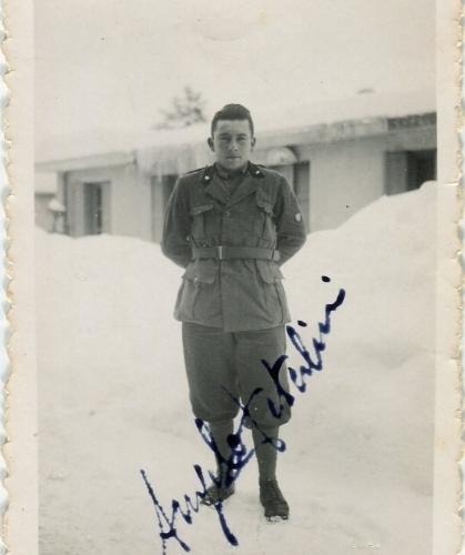 01.Angelo Paterlini a Montenero d'Idria 14.02.1942