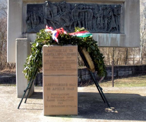 Monumento battaglia Cantalupo Ligure