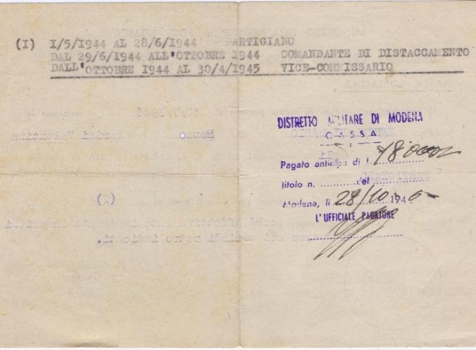 02.Daria Bertolani Marchetti - Documenti partigiani marito