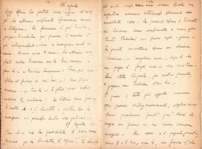 13.Daria Bertolani Marchetti - Pagine del diario