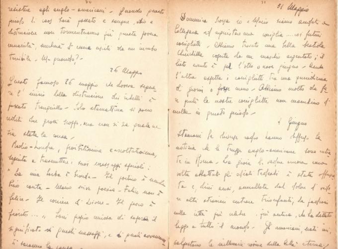22.Daria Bertolani Marchetti - Pagine del diario