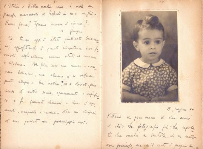 24.Daria Bertolani Marchetti - Pagine del diario