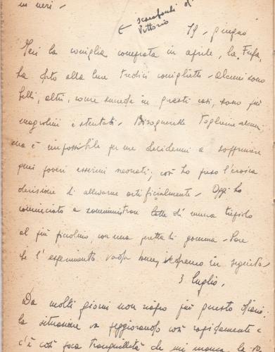 25.Daria Bertolani Marchetti - Pagine del diario