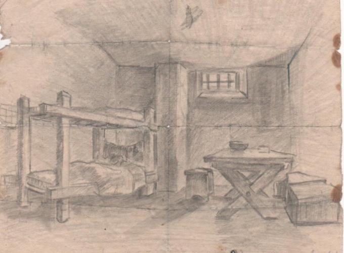 Mariuccia Nulli la cella del Lager