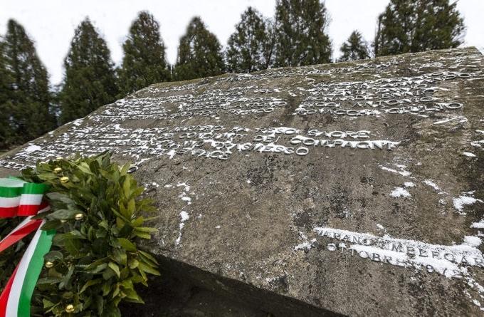 Lapide monumentale ai caduti del Dordia