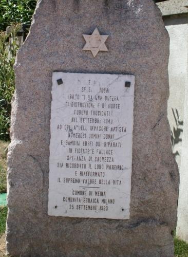 stele di Meina