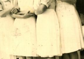 01.Eliana Nerozzi - Fotografia corso ostetrica 28 02 1942