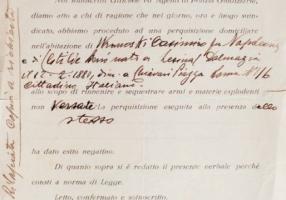 01.F.L. Wronowska - Rapporto perquisizione