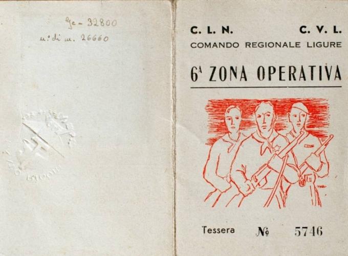 01.F.L. Wronowska - Tessera della 6^ Zona Operativa