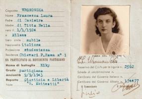02.F.L. Wronowska - Tessera della 6^ Zona Operativa