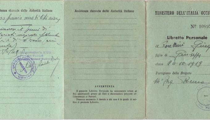 01.Gina Borellini - Documenti partigiani