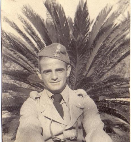 01.Gina Borellini - Foto del marito a Tripoli 1941
