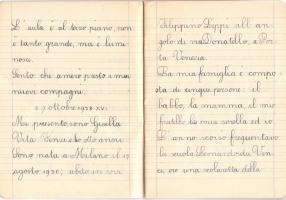 04.Gisella Vita Finzi - Diario scolastico 1938