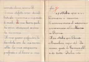 05.Gisella Vita Finzi - Diario scolastico 1938
