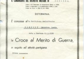 01.Lina Tognoli-Croce al Merito di Guerra