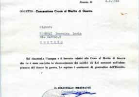 02.Lina Tognoli-Croce al Merito di Guerra concessione
