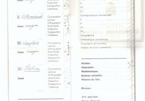 03.Paola Vita Finzi - Certificato di studi in Svizzera