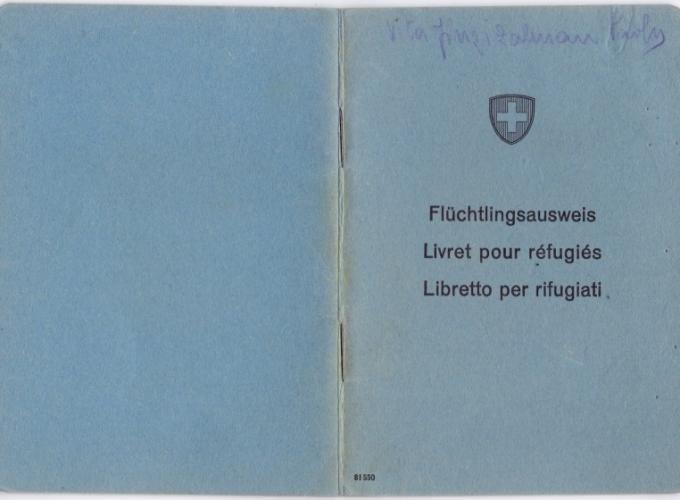 01.Paola Vita Finzi - Libretto per rifugiati