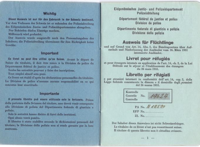 02.Paola Vita Finzi - Libretto per rifugiati
