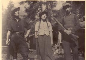 01.Rosi Romelli - Foto dell'agosto 1944 a Premassone