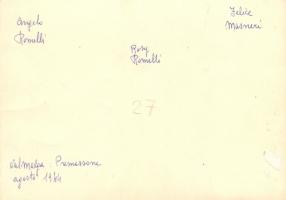 02.Rosi Romelli - Foto dell'agosto 1944 a Premassone