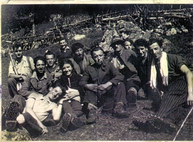 03.Rosi Romelli - Foto in Valmalga estate 1944