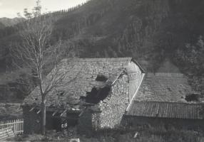 03.Valle dell'Ubayette, case colpite-luglio 1940